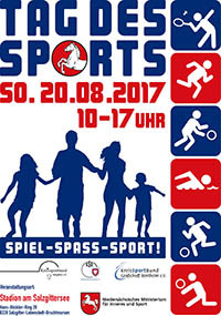 Plakat Tag des Sports 2017